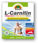 30 L-Carnitin +Magnesium +Vitamin B12 Sticks